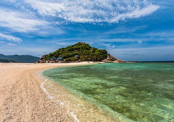 Strand van Koh Nang Yuan