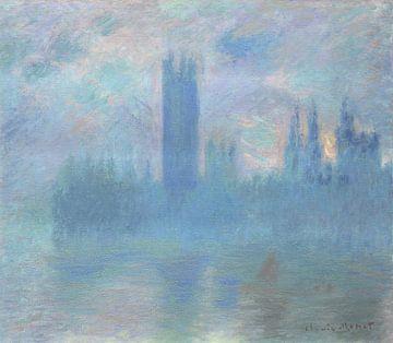 Das Parlamentsgebäude in London, Claude Monet