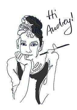 Hi Audrey! von christine b-b müller
