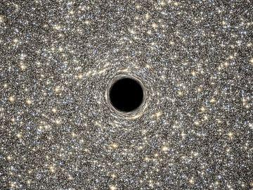 Supermassive Black Hole van