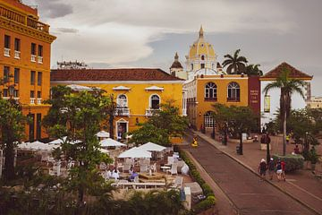 Oude centrum van Cartagena van Ronne Vinkx