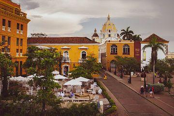 Oude centrum van Cartagena sur Ronne Vinkx