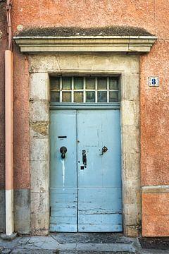 Oude verweerde deur van Anouschka Hendriks