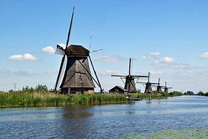 Windmühlen von Kinderdijk im Ablasserwaard von Robin Verhoef