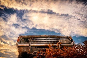 Une voiture américaine sous les nuages sur Marc-Sven Kirsch