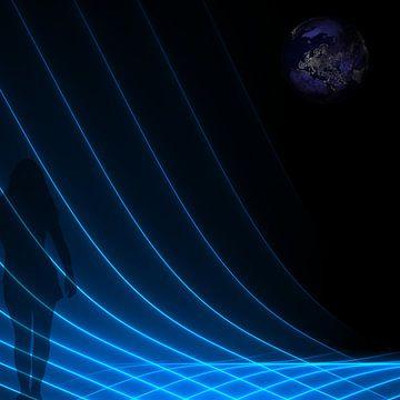 Verloren in de ruimte van Carla van Zomeren