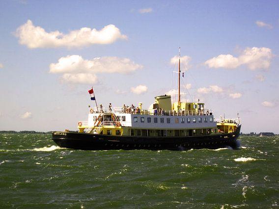 Veerboot Friesland van Olivier Ozinga