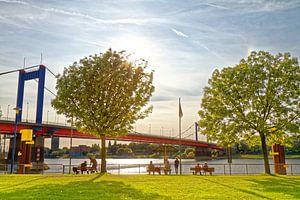 Molenweide bij de haven in Duisburg-Ruhrort (7-38543) van Franz Walter