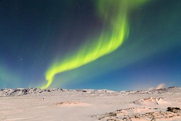 Noorderlicht - IJsland (3) van Tux Photography