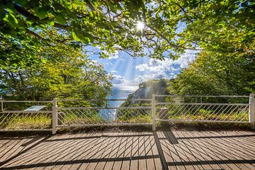 RÜGEN Nationaal Park Jasmund, bekijk Königsstuhl van Melanie Viola