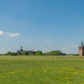 Blick auf Winssen im Sommer von Patrick Verhoef