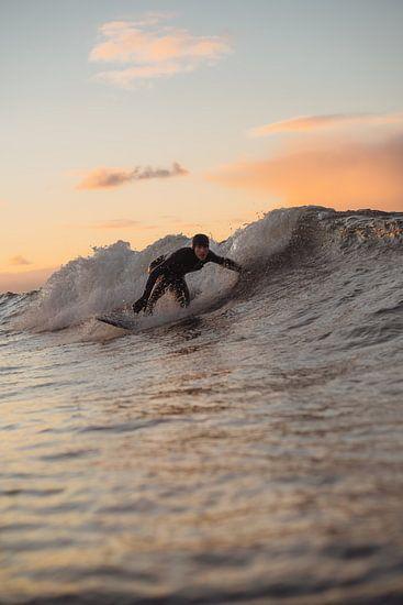 Sunset surf Domburg 1