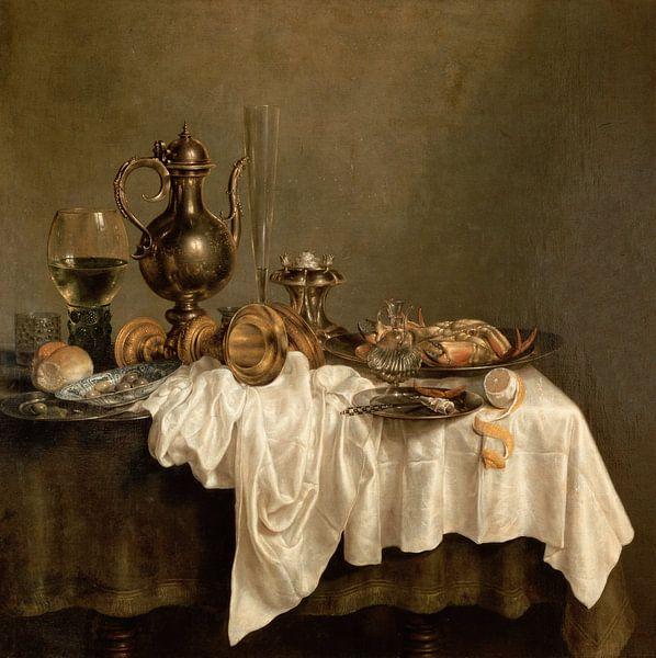Frühstück mit einem Hummer, Willem Claesz Heda von The Masters