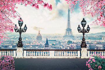 Romantisches Paris von Manjik Pictures