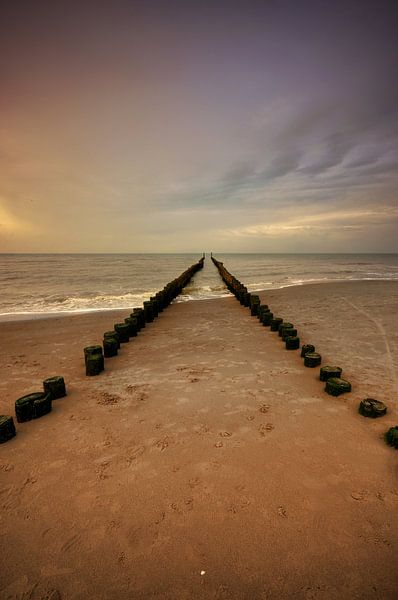Landschap - Beach van Angelique Brunas