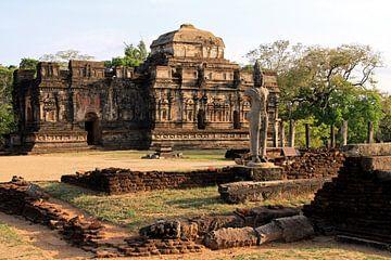 Tempel in Polonnaruwa van Gert-Jan Siesling