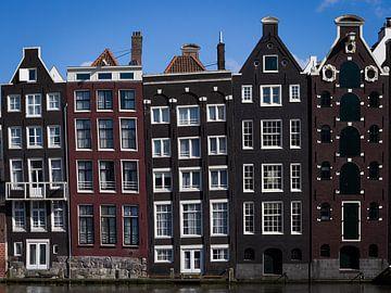 Blick auf den Damrak, Amsterdam von Peter Nederlof