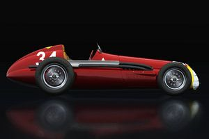 Alfa Romeo 158 Alfetta Seitliche Ansicht