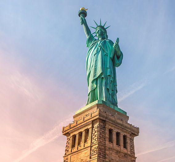 Vrijheidsbeeld, Statue of Liberty, New York van Maarten Egas Reparaz