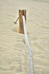 Sand & Seil van Mathias Kuhn