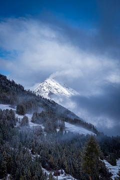Winters landschap von Cas Mulder