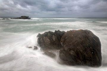 Küstenlandschaft Bretagne von Ko Hoogesteger