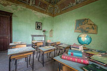 verlaten school van Kristof Ven