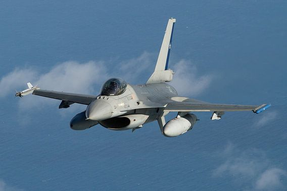 Chileense Luchtmacht F-16 Fighting Falcon van Dirk Jan de Ridder