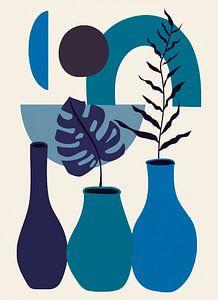 Nature morte bleue sur Rudy & Gisela Schlechter