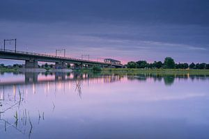 Deventer Eisenbahnbrücke von Els Hunink