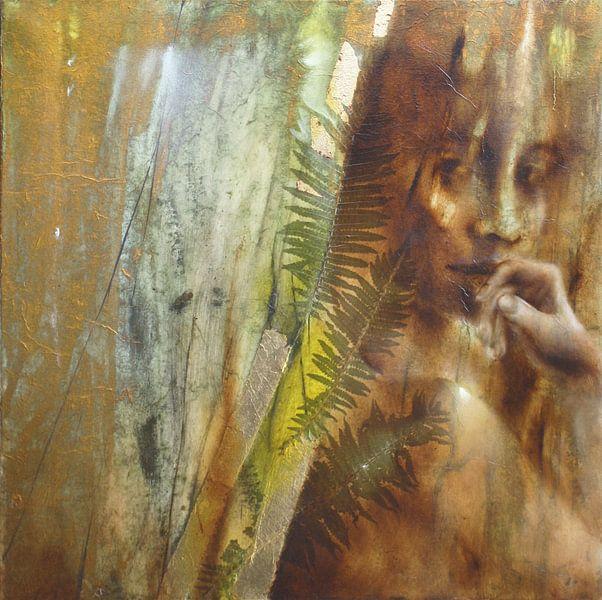 Lisa - der Blick hinter Farnblättern von Annette Schmucker