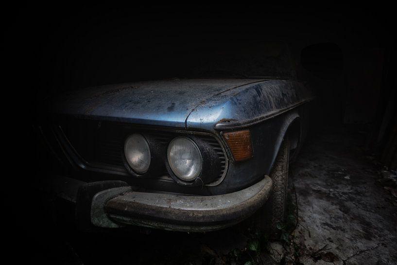 Oude BMW van Maikel Brands