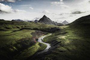 ISLAND - Vulkangebiet von Rudy en Gisela Schlechter