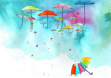 Reizende paraplu s von keanne van de Kreeke