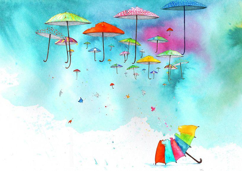 Reizende paraplu s van keanne van de Kreeke