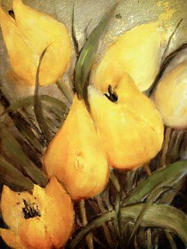 Gelbe Tulpen von Christine Nöhmeier