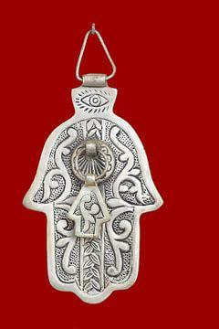 Handje van Fatima (Hamsa), deurklopper van Inge Hogenbijl