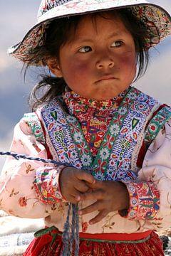 Peruvian Girl van Gert-Jan Siesling