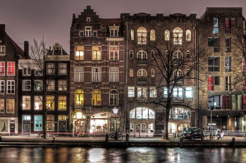 Grachtengordel Amsterdam HDR van Wouter Sikkema