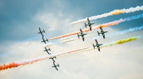 Luchtschildering van Wim Slootweg