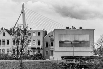 Oud en nieuw op het Noordereiland, Rotterdam von Peter Hooijmeijer