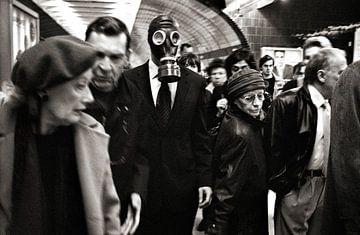 Metro - Analoge Fotografie! von Tom River Art
