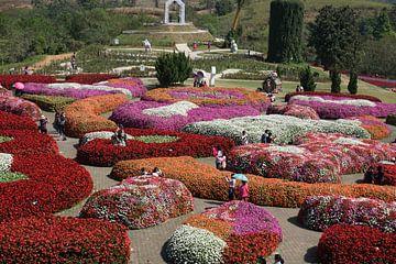 bloemen en planten show tuin von Bart Cornelis de Groot