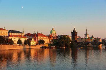 Stadtansicht Prager Altstadt von Sabine DG