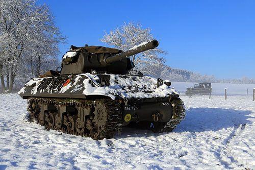 M10 Tank Destroyer van
