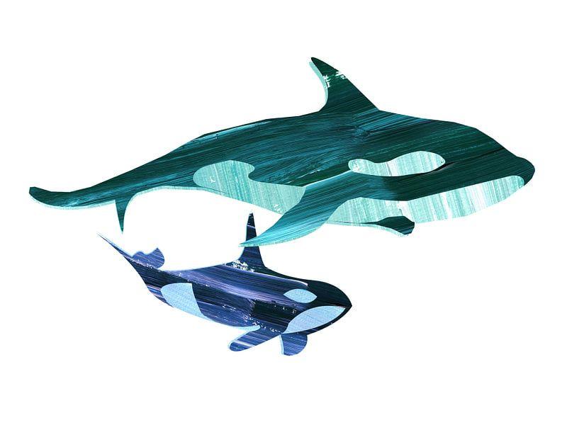 Samen zwemmen van Goed Blauw