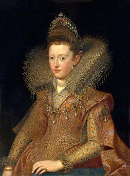 Margherita Gonzaga, prinses van Mantua, Frans Pourbus de jongere - ca. 1600