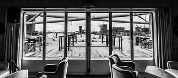 Hinterdeck SS Rotterdam von Ed van der Hilst