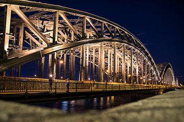 Pont Hohenzollern à Cologne sur Marcia Kirkels