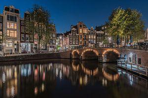 Soirée tranquille au Torensluis à Amsterdam sur Jeroen de Jongh